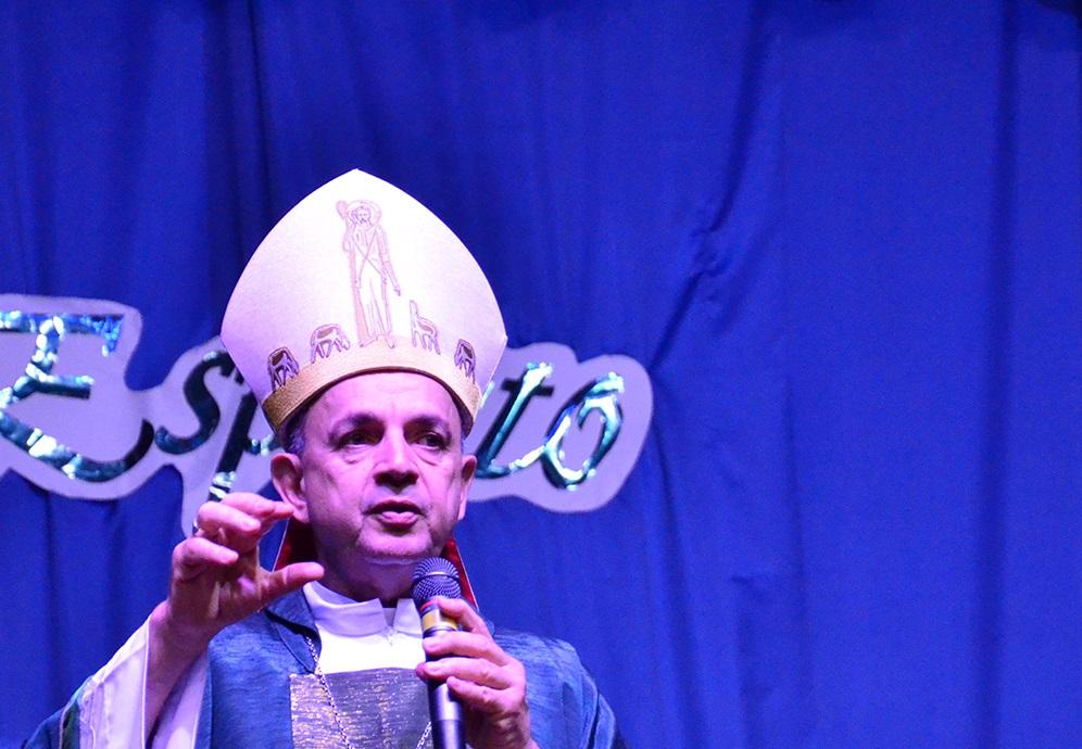 Segundo dia do Rebanhão foi encerrado pela Santa Missa presidida pelo Bispo Dom Valdir Mamede